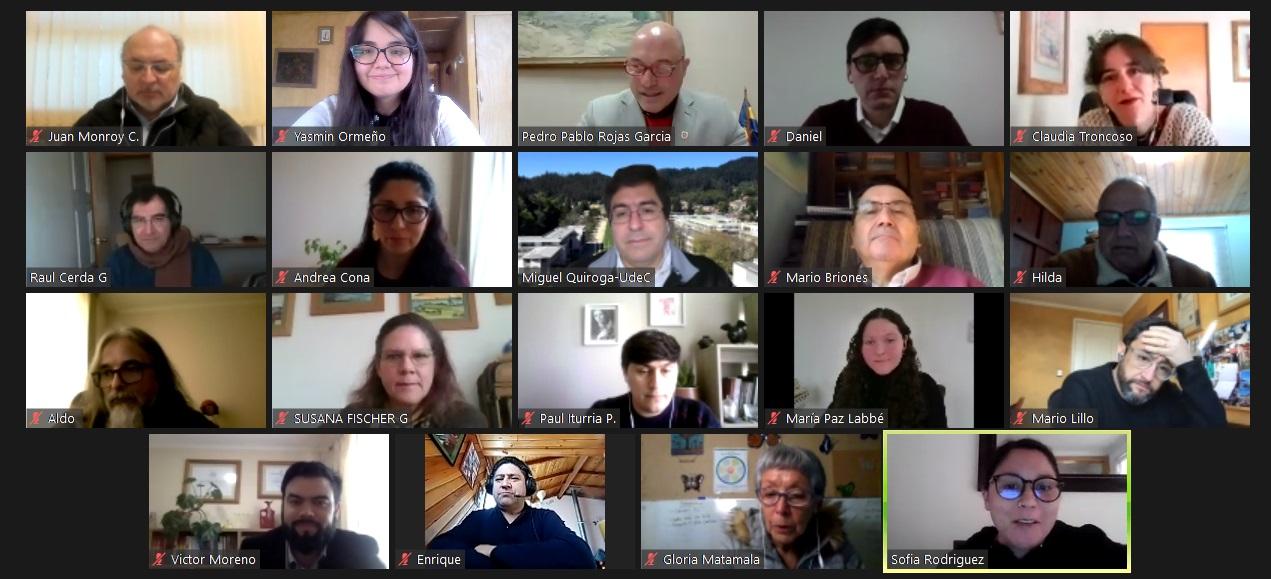 Se constituye Equipo Asesor de la Fase 1 del Plan Maestro Campus Chillán